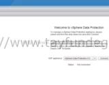 vSphere Data Protection – Installation, Configuration Part 3