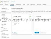 Cluster QuickStart