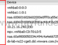 Datastore Status Unknown gözüküyor ise