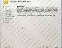 Exchange Server 2010 Kurulumu