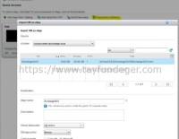 Virtual Machine'in vCloud Director'a import edilmesi