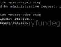 vCenter Server Appliance 6 – vPostgres Database Restore