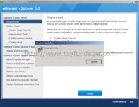 vCenter 5.1 'den vCenter 5.5 'e upgrade (External Database) Bölüm 1