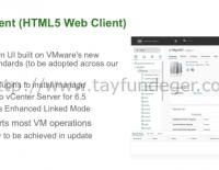 vSphere Web Client Kaldırılıyor