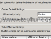 vSphere HA virtual machine failed to failover