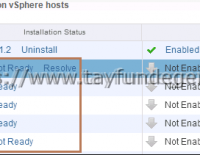 VMware NSX – Cluster not ready