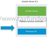vCenter Server 6.0'dan vCenter Server 6.5'a Upgrade