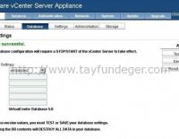 vCenter Server Appliance Embedded Database