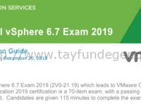 VCP-DCV 2019 Study Guide