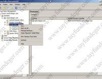 Windows Server 2008 GPO Yedeklemek