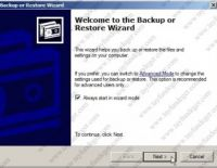 Exchange Server 2007 Backup