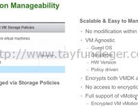 vSphere 6.5 – VM Encryption Nedir?