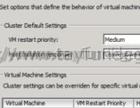 vSphere HA virtual machine failed to failover
