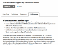 HP Customized ISO ESXi 5.5 ve ESXi 6.0