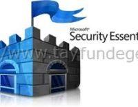 Microsoft Security Essentials indir