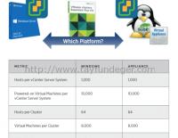 vCenter Server Appliance 6 ile Windows vCenter 6 arasındaki farklar