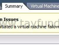 vCenter HA failover initiated on uyarısı