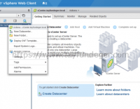 vCenter 6.0 Basics – New Datacenter / Add Host