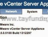 vCenter Server Appliance 5.5 ile Windows vCenter Server 5.5 arasındaki farklar