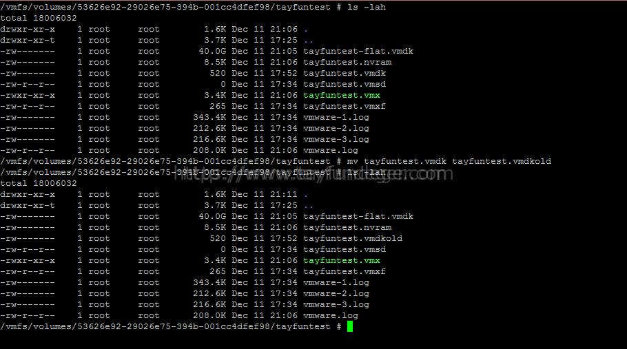 Recreating a missing virtual machine disk descriptor file | VMware
