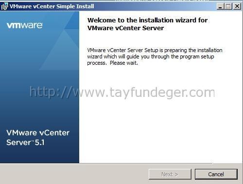 vCenter-Service-install