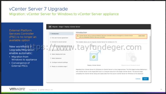 Upgrade & Converge