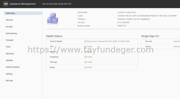 vCenter Server FQDN Nasıl Değiştirilir?