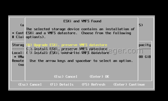 ESXi 6.7 to ESXi 7 Upgrade