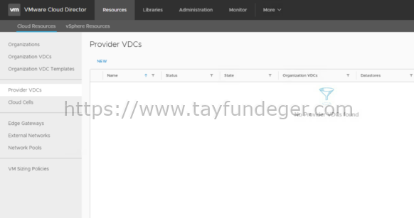 Cloud Director Provider VDC