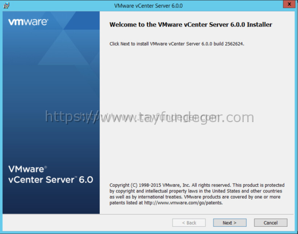 PSC installation vcenter 6