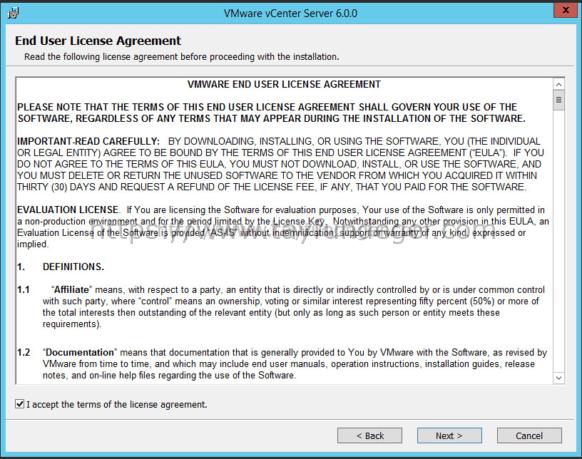 vcenter 6 license