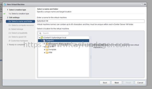 esxi 6 create new virtual machine