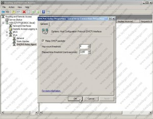 DHCPv6 Relay Properties