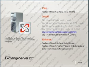 Exchange Server 2007 Step5