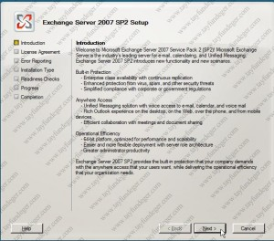 Exchange Server 2007 Introduction