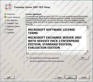 Exchange Server 2007 License