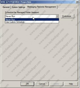 Messaging Records Management