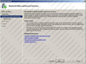 Network Policy and Access Services