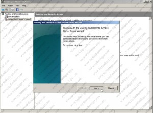 Routing And Remote Access Server Setup Wizard
