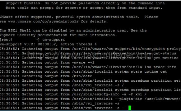 SSH üzerinden ESXi logları nasıl alınır?