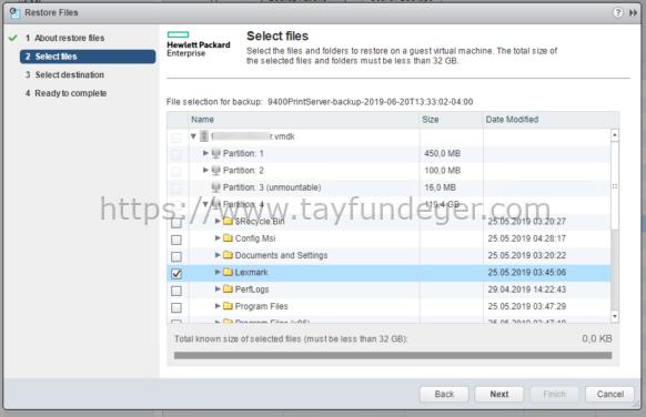 HPE SimpliVity Select Files