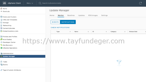 VMware Update Manager