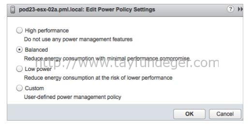 host-power-management