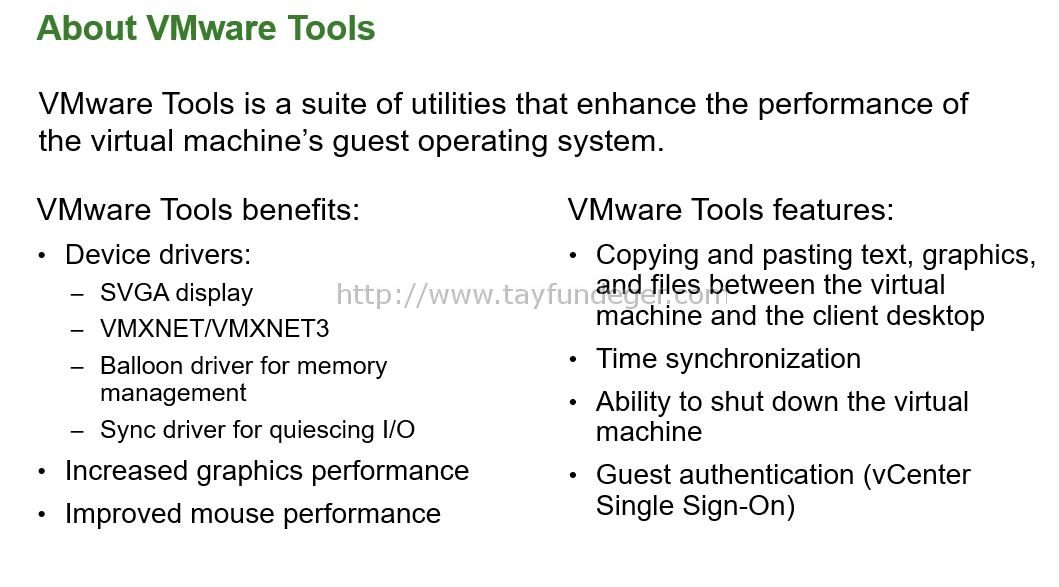 VMware Tools Nedir? Gerekli mi? | VMware Virtualization Blog